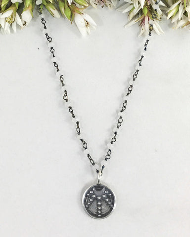 Guided by the Goddess Necklace Sterling Silver