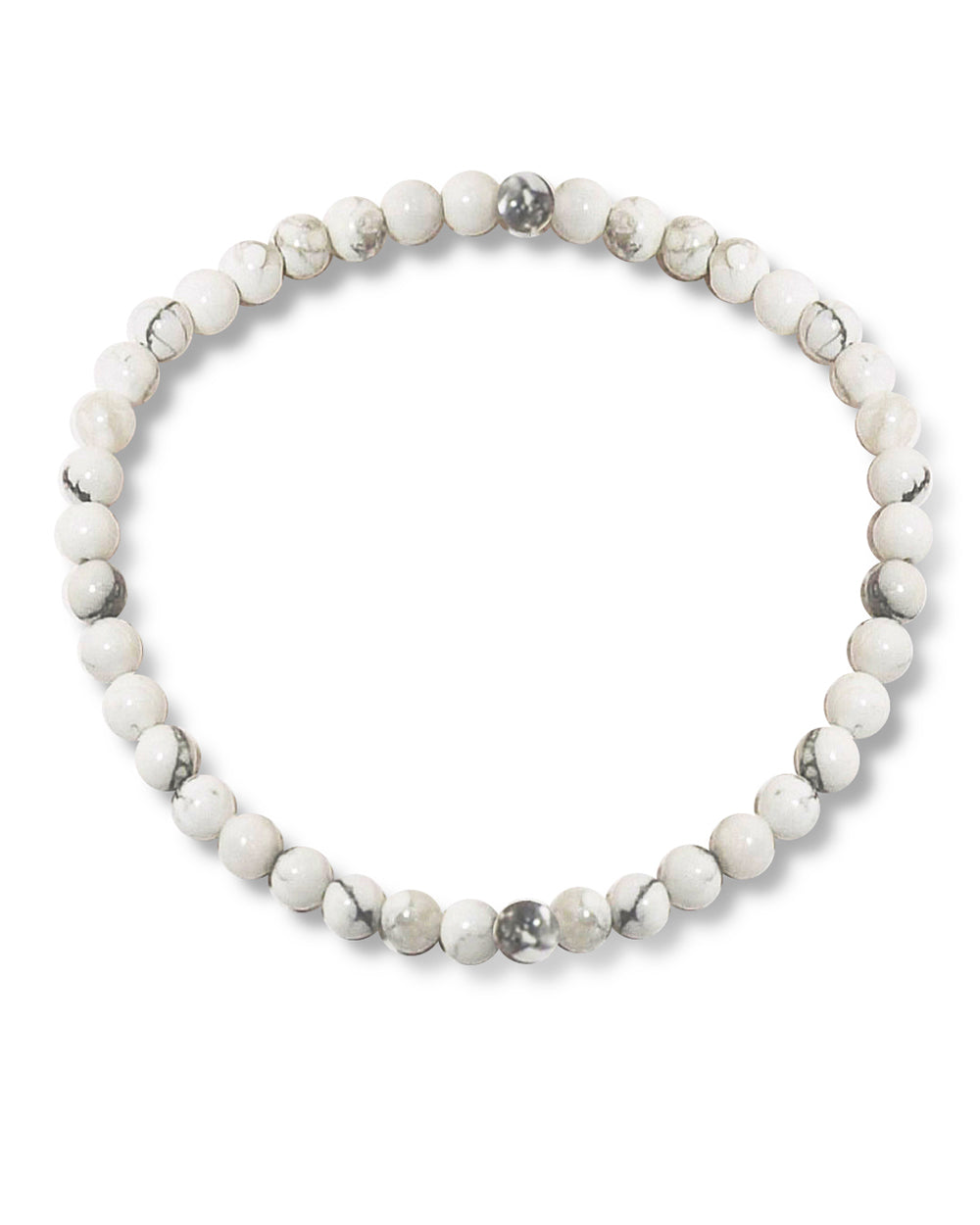 Howlite Mini Gemstone Energy Bracelet