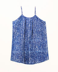 Indigo Planet 100% Organic Cotton Spaghetti Strap Top