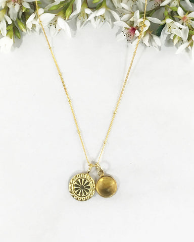 Joyous Vitality Necklace Gold Vermeil