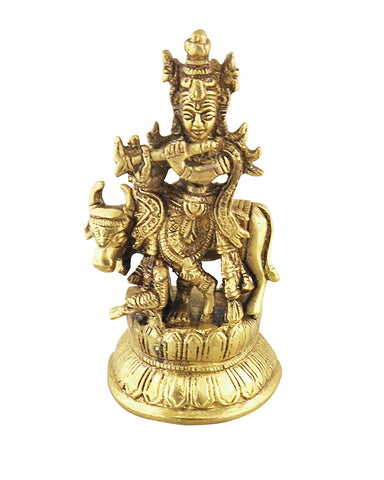 Lord Krishna Love and Guidance Statue - Sivalya