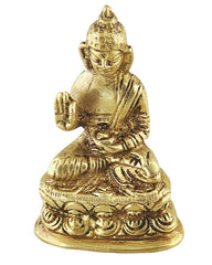 Mini Buddha Blessings Pose Statue 2 inches