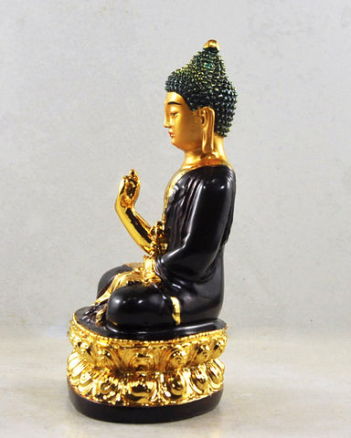 Wish Giving Buddha Copper Statue 5 inches