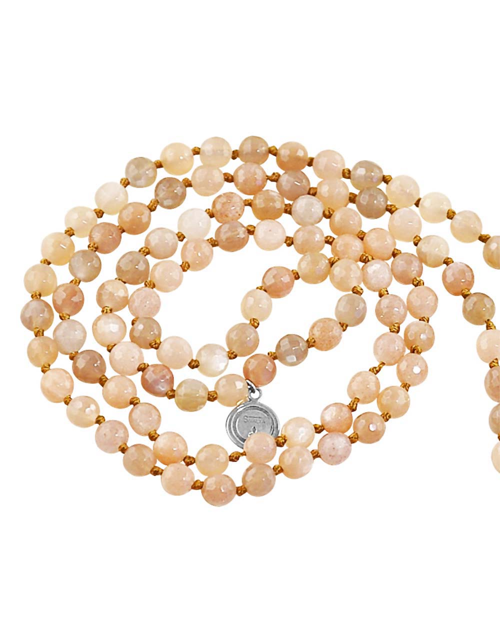 Moonstone Mala Guided By Goddess