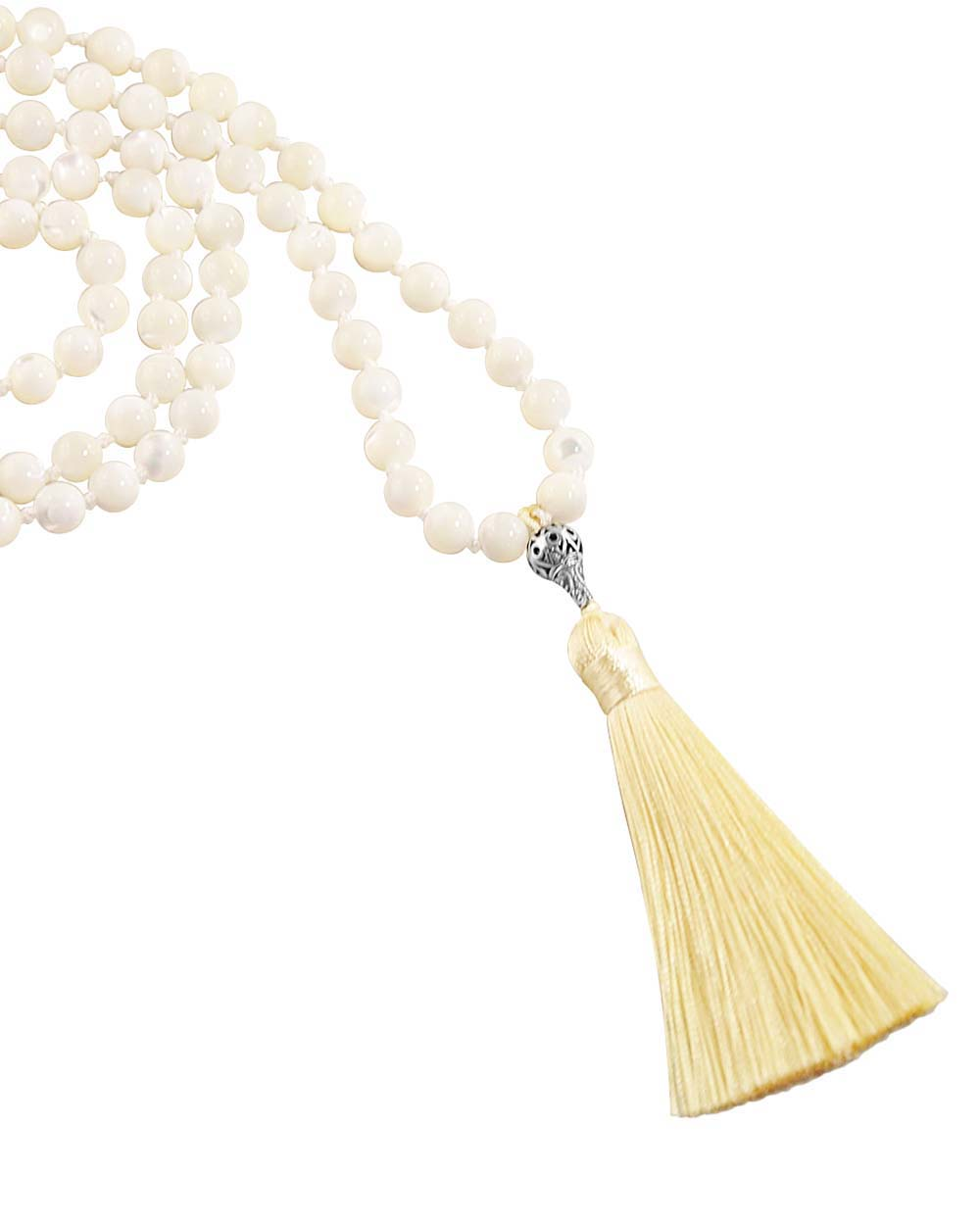 Mother of Pearl Mala Relief and Comfort