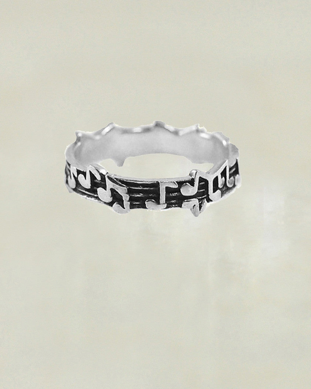 Music Lovers Sterling Silver Ring