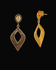Mystic Elegance Diamond Earrings