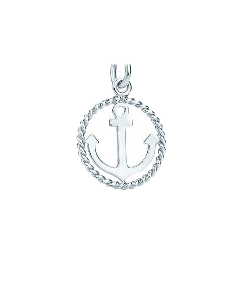 Nautical Anchor Charm in Sterling Silver