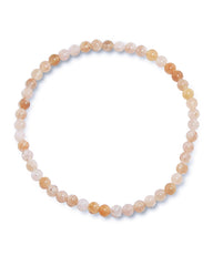 Peach Moonstone Mini Gemstone Energy Bracelet