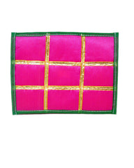 Pink Silk Altar Cloth with Gold Trims