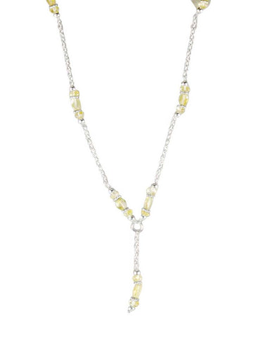 Regeneration Citrine Sterling Silver Necklace
