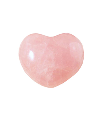 Rose Quartz Heart Crystal