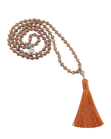 Sacred Awareness Mala Smoky Quartz
