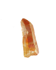 Tangerine Aura Quartz Crystal Point