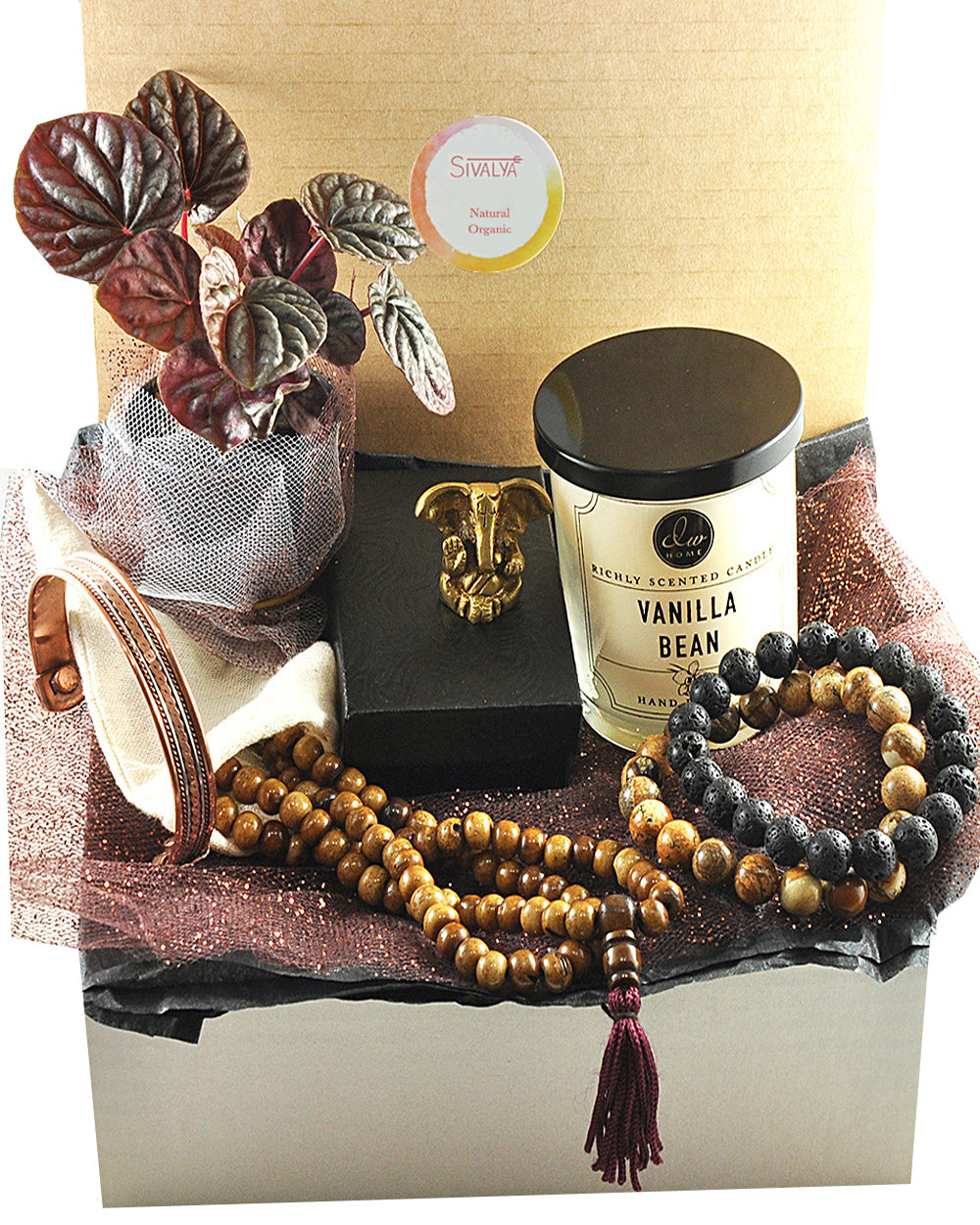 Tibetan Mala Gift Box for Men