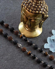 Vitality Rudraksha Power Beads Mala