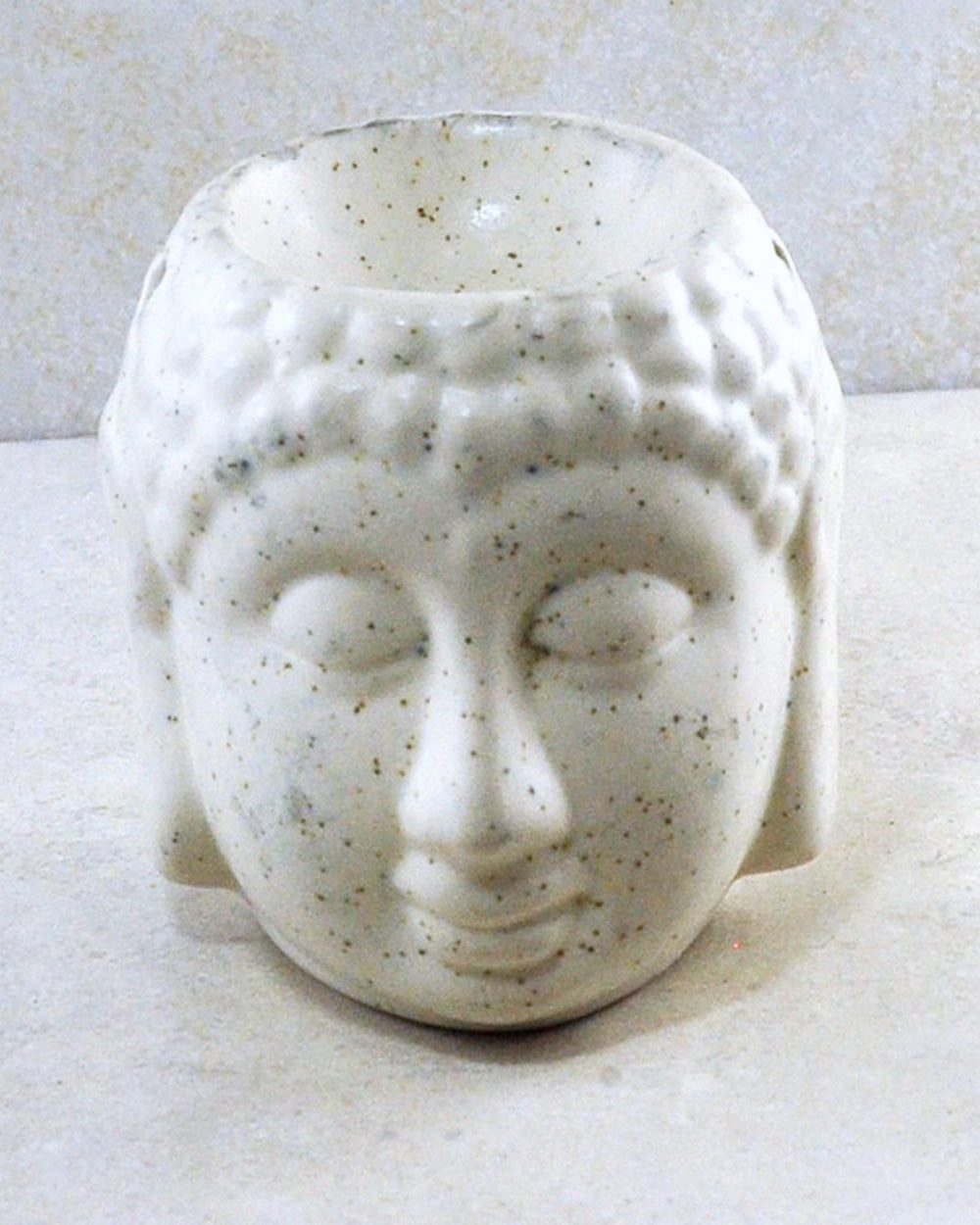 Serene Buddha Essential Oil Diffuser White Ceramic