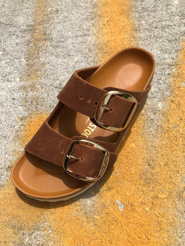 Cognac Big Buckle
