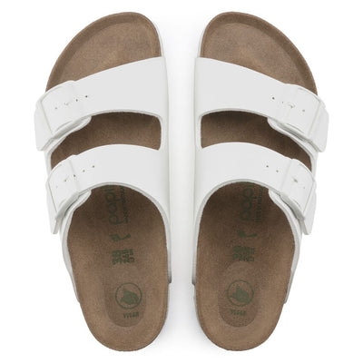 Arizona Black Amalfi Leather Soft Footbed Sandal - Orleans Shoe Co.