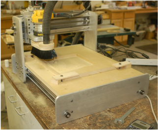 CNC Router with Vacuum  Helps With a  Dust Free Shop
