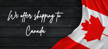 We now offer shipping to Canada!