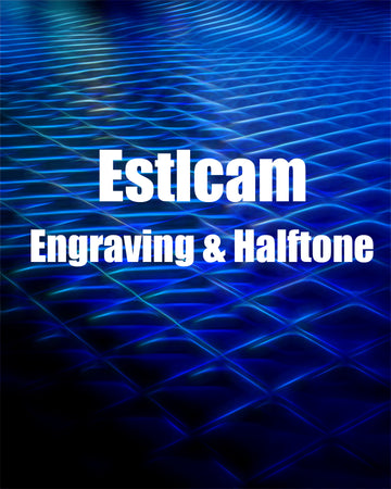 Estlcam: Engraving and Halftone