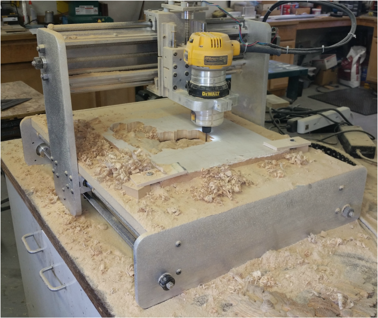 CNC Router with Vacuum