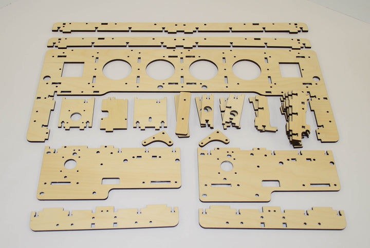 E3 Gantry Wood Kit (25)