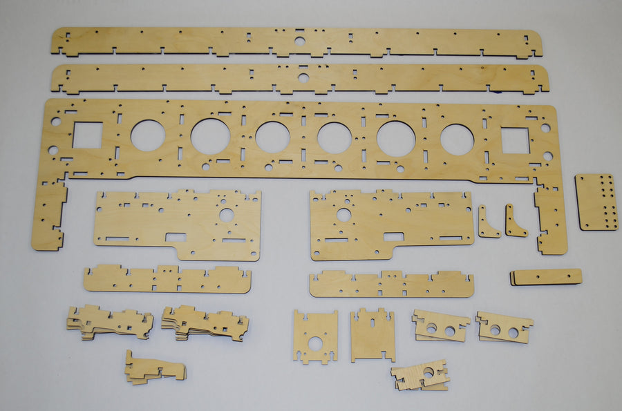 E4 Gantry Wood Kit (25)