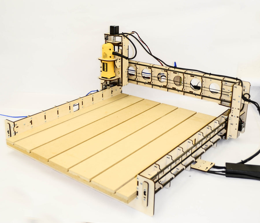 BobsCNC E4 CNC Router Engraver Kit -includes the DeWalt DW660 Router
