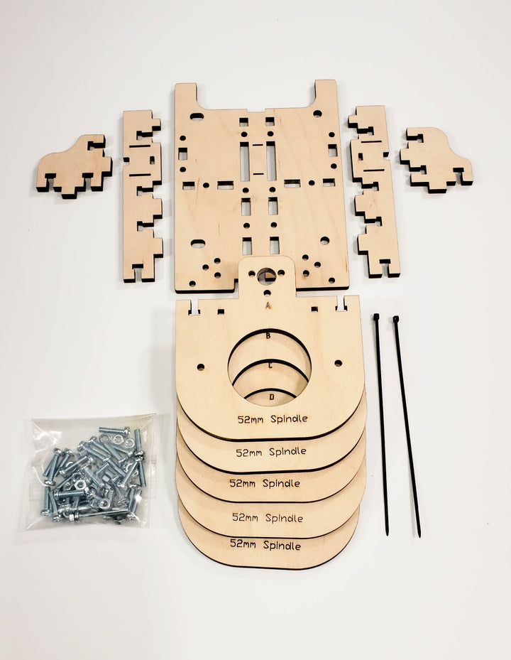 E Series CNC Router 52 mm Spindle Mount Kit