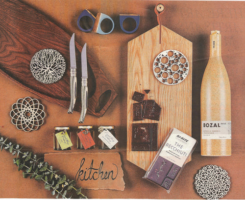 Barrel Napkin Rings in San Francisco Chronicle's Style Gift Guide 2016