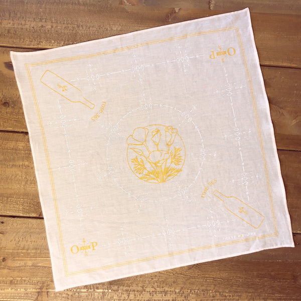 Olive and Poppy Rosé Bandana - Olive and Poppy