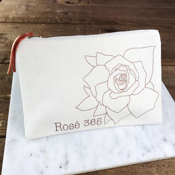 Zipper Pouch - Rosé 365 - Olive and Poppy