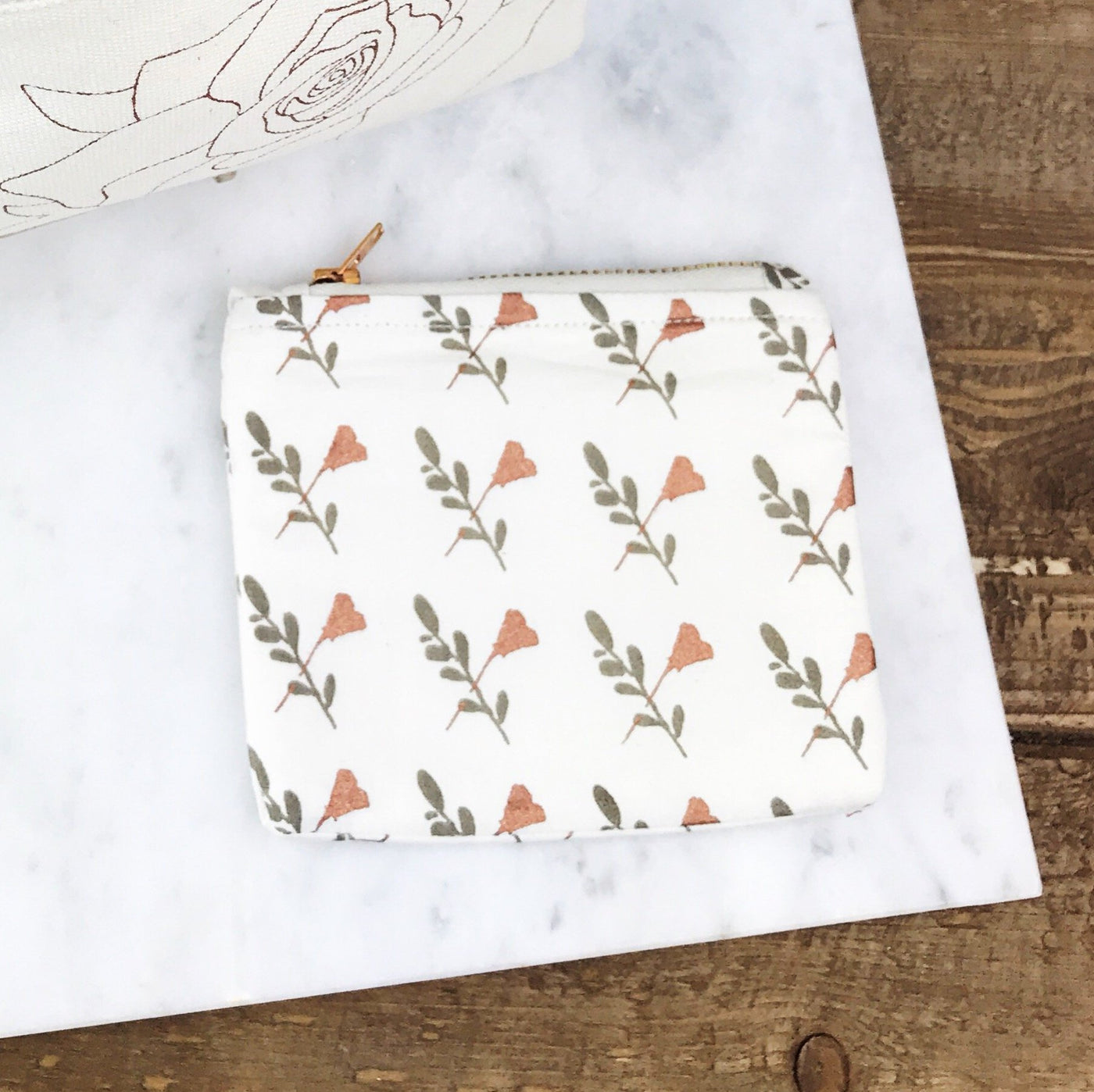 Coin Purse - Rosé 365 - Olive and Poppy