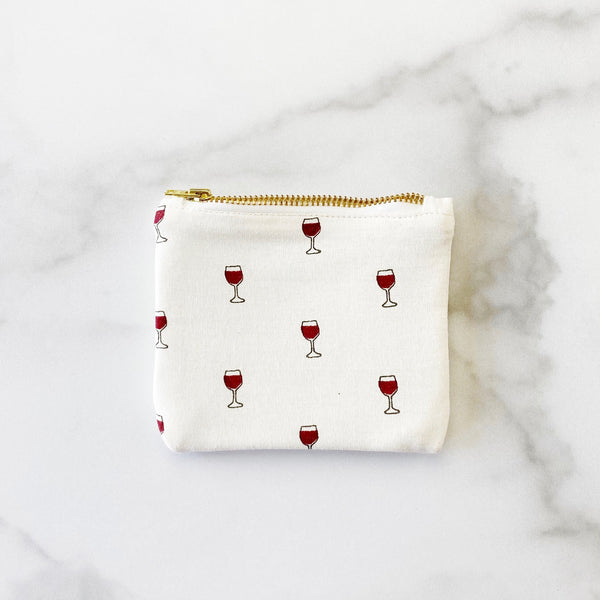 Coin Purse - Cheers to Friendship - Olive and Poppy