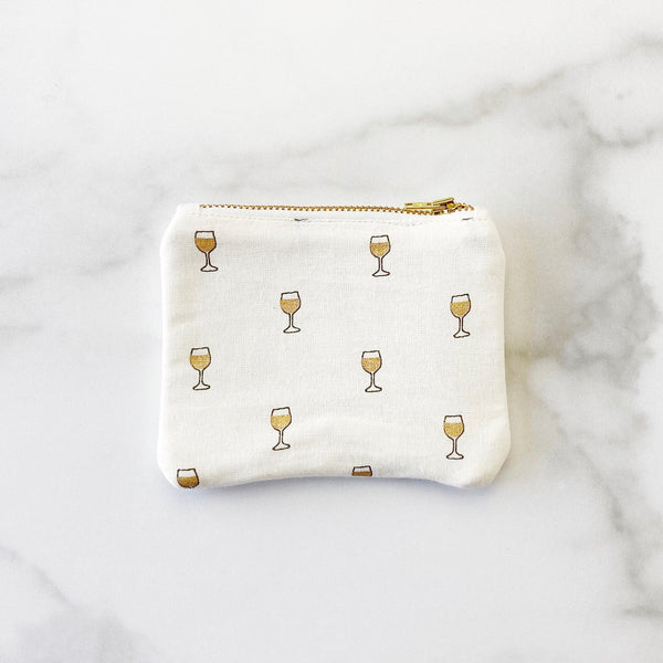 Coin Purse - Cheers to The Sweet Life - Olive and Poppy