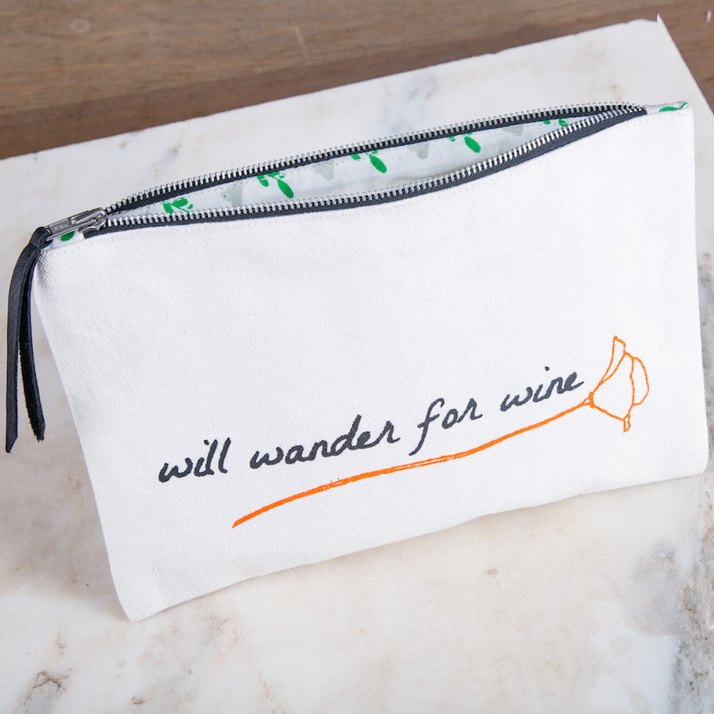 Zipper Pouch - Will Wander