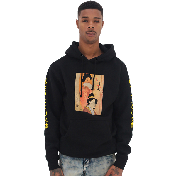 Hibachi for Lunch Hoodie - Black