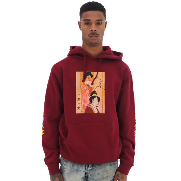 Hibachi for Lunch Hoodie - Cardinal
