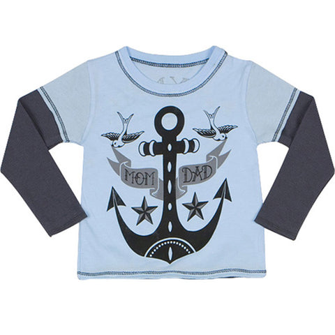 Ahoy Mate Layered Tee