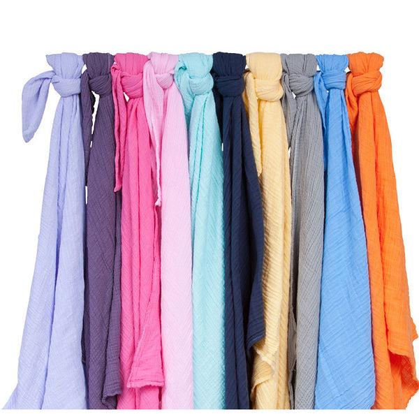 Colorful Muslin Swaddle Blankets