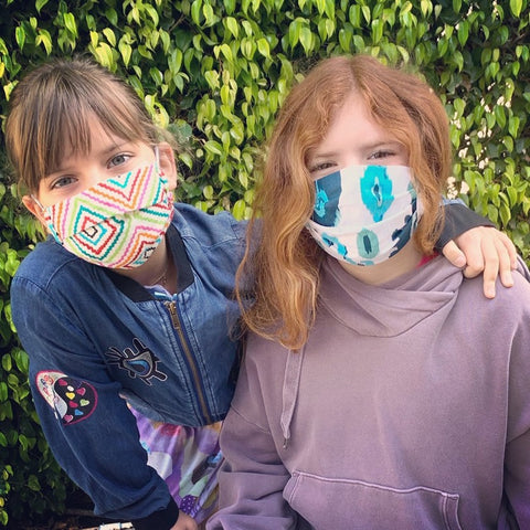 KIDS Cotton Face Mask: Support Small Business - Made in USA