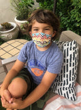Kids Cotton Face Mask - Made in USA