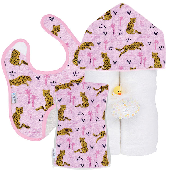 Welcome Baby Gift Set - Leopards