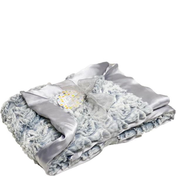 Luxe Stroller Blanket - Paloma Silver