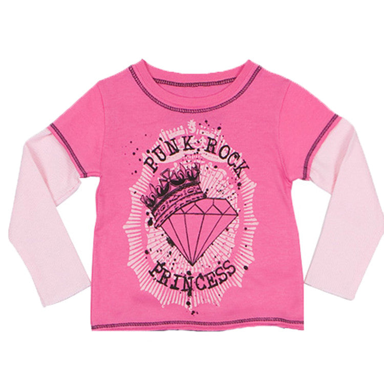 Layered Tee - Rockstar Princess