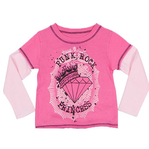 Rockstar Princess Layered Tee