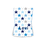 Single Plush Burp Cloth - Stars & Stars