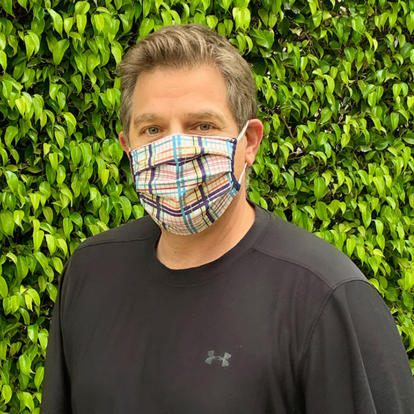 Adult Cotton Face Mask - Made in USA